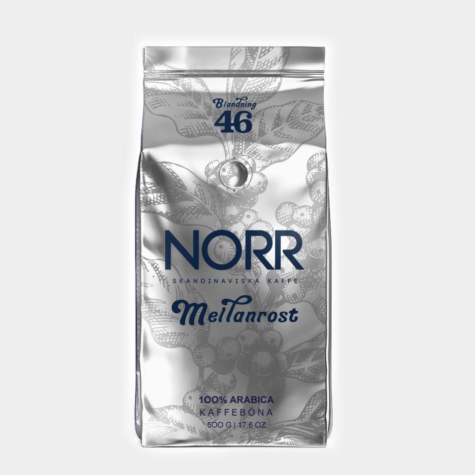 кофе в зернах norr meilanrost